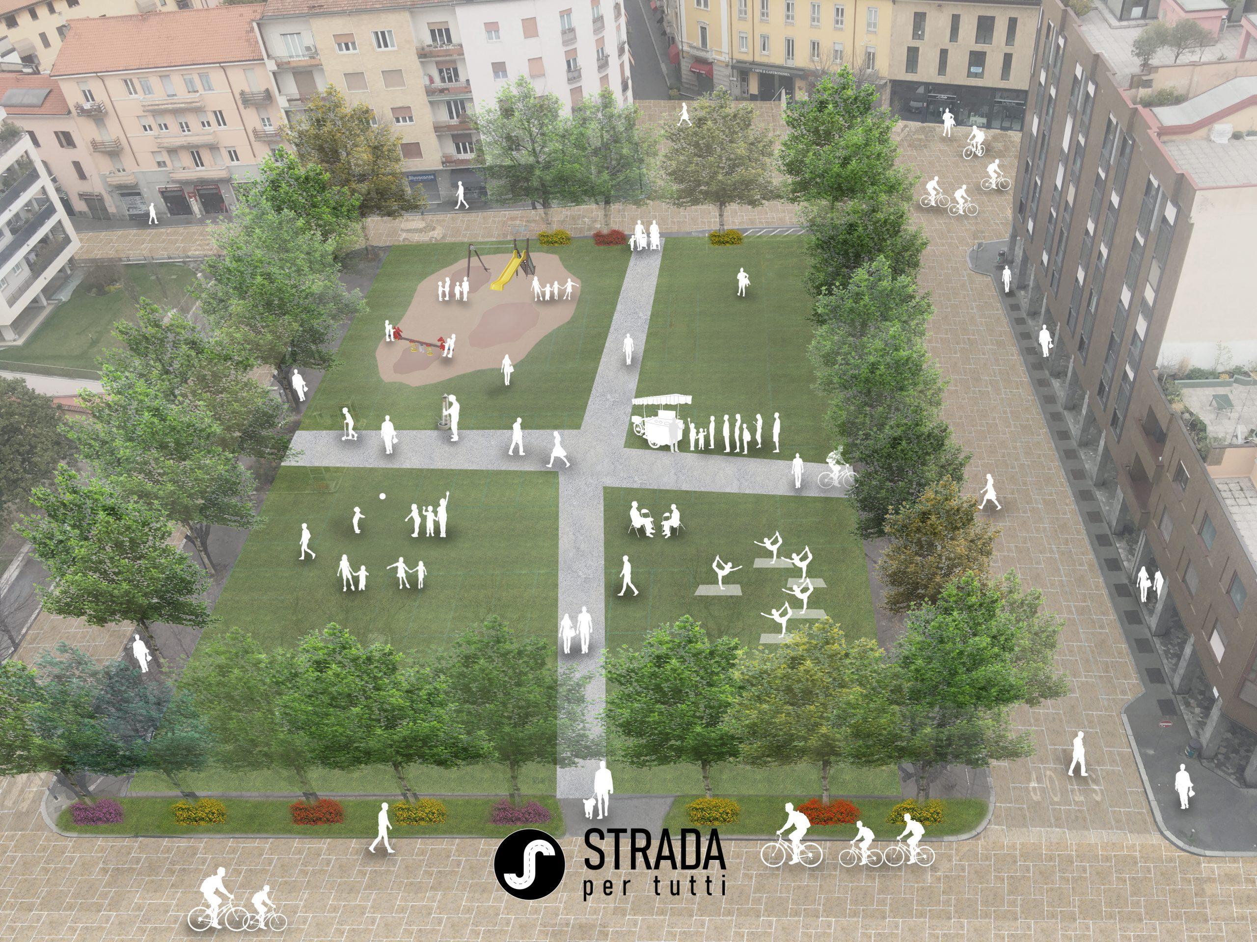 Progetto Vecchia Piazza Mercato Legnano